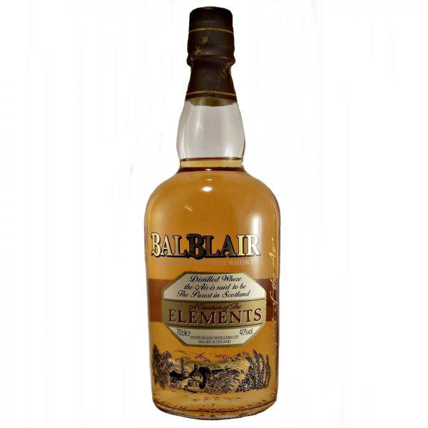 Balblair Elements Single Malt Whisky