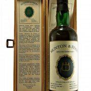 Ben Wyvis 1972 Single Malt Whisky Munton & Fison