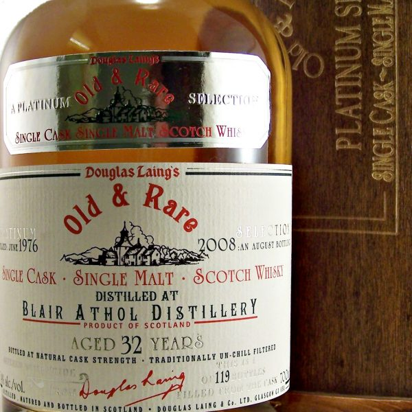 Blair Athol 32 year old Single Cask Whisky Platinum Selection
