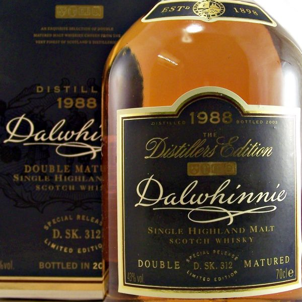 Dalwhinnie 1988 Distillers edition Double Matured