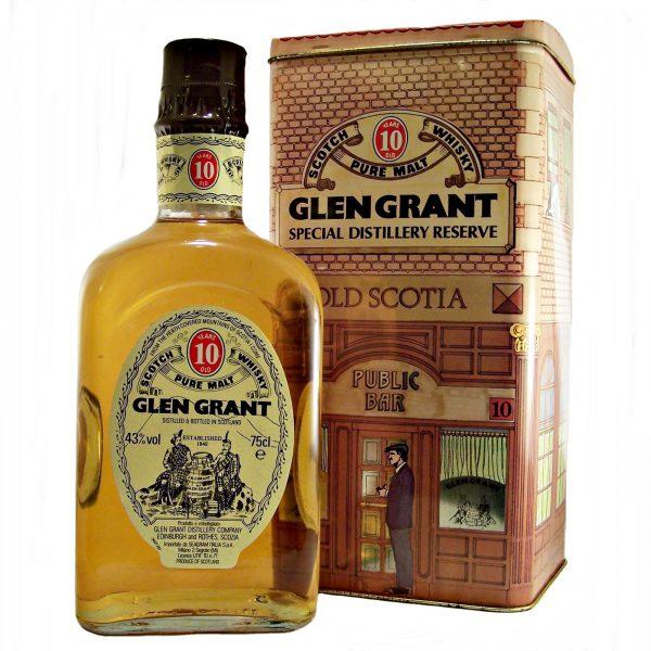 Glen Grant 10 year old 1980's