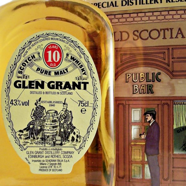 Glen Grant 10 year old 1980's Single Malt Whisky