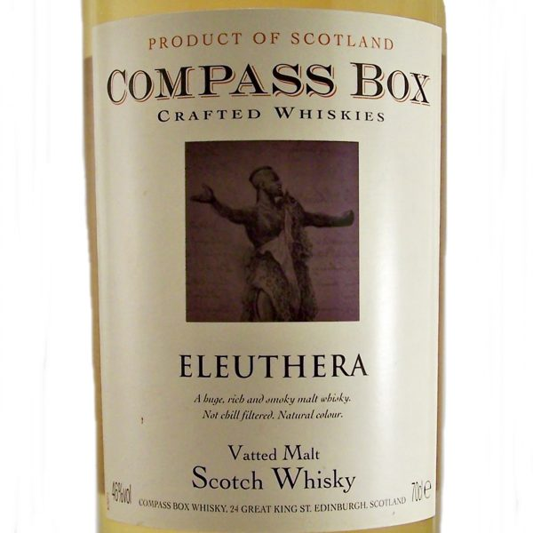 Compass Box Eleuthera Vatted Malt Whisky