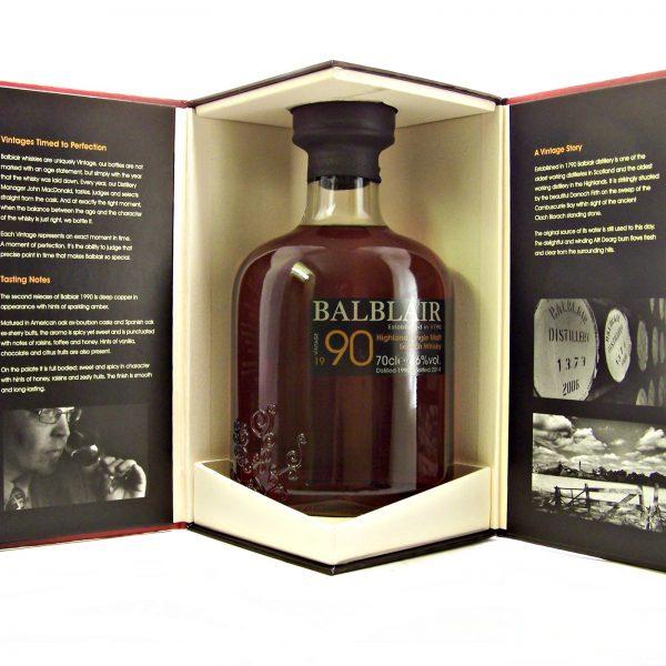 Balblair 1990 Vintage Highland Single Malt Whisky