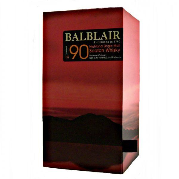 Balblair 1990 Vintage Single Malt Whisky