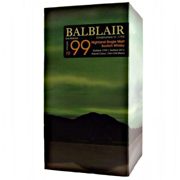 Balblair 1999 Vintage Highland Single Malt Whisky