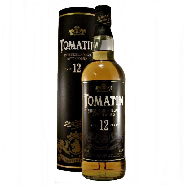 Tomatin 12 year old Whisky (Old Style)