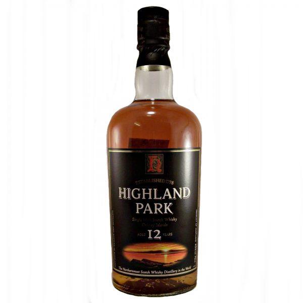 Highland Park 12 year old Round Bottle