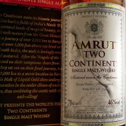 Amrut Two Continents Indian Single Malt Whisky