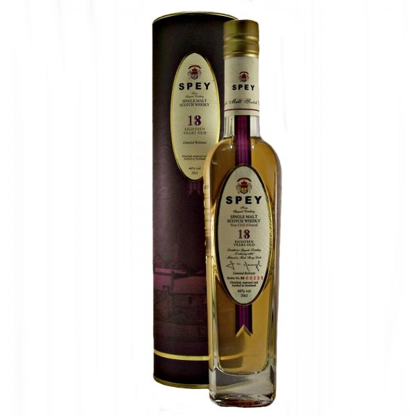 Spey 18 year old Malt Whisky