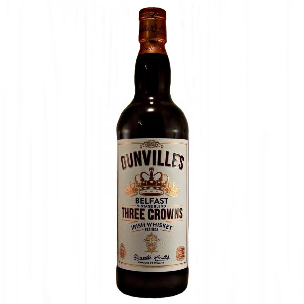 Dunvilles Three Crowns Irish Whiskey
