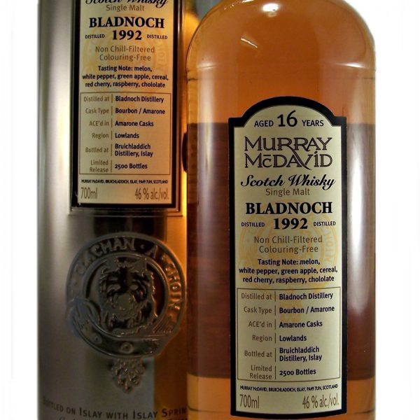 Bladnoch 1992 Murray McDavid Single Malt Whisky