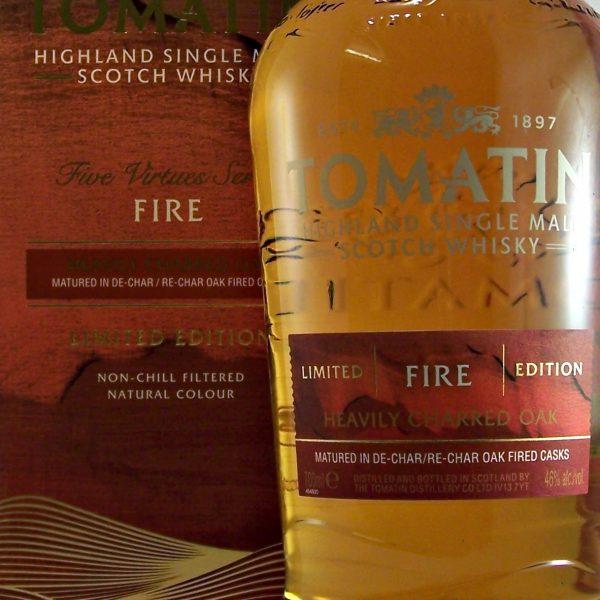 Tomatin Five Virtues Fire Edition Single Malt Whisky