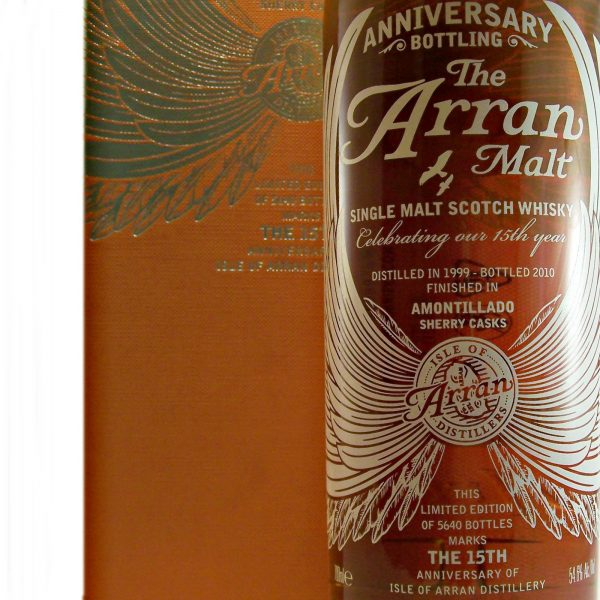 Arran Malt 15th Anniversary Whisky