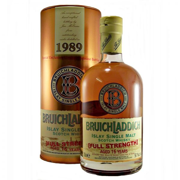 Bruichladdich 1989 Full Strength