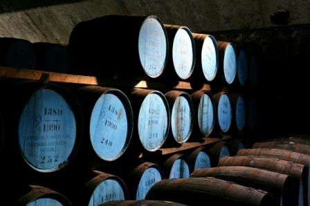 Knockando Whisky Distillery Casks Maturing