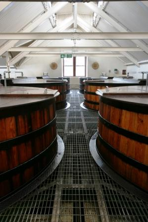 Knockando Whisky Distillery Washbacks