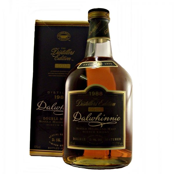 Dalwhinnie 1988 Distillers Edition Litre Bottle