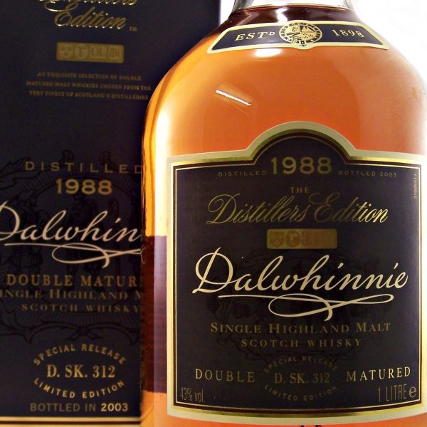 Dalwhinnie 1988 Distillers Edition Single Malt Whisky