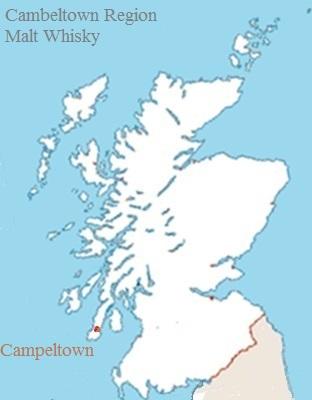 Scottish Campbeltown Malt Whisky