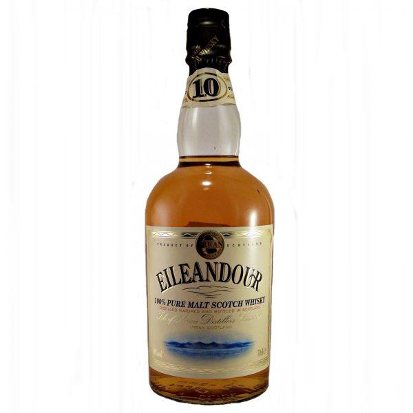 Eileandour Malt Whisky 10 year old scotch