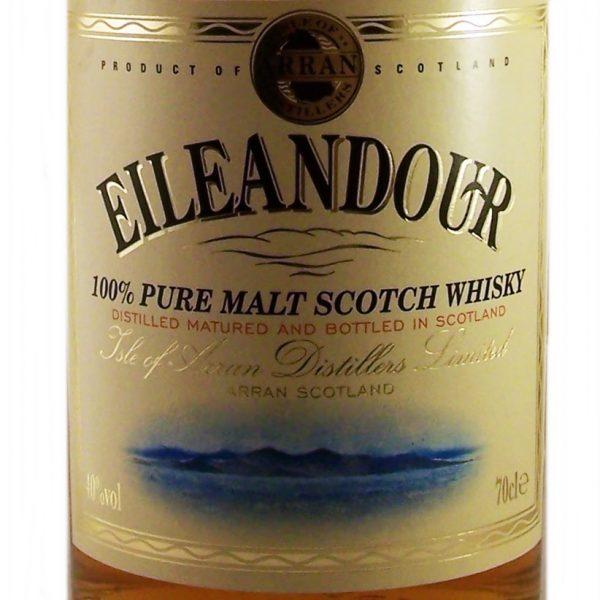 Eileandour Pure Malt Whisky 10 year old