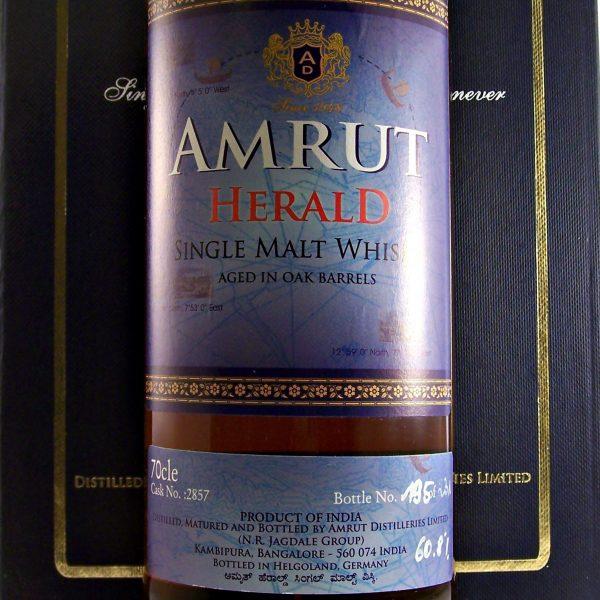 Amrut Herald Indian Single Malt Whisky limited edition