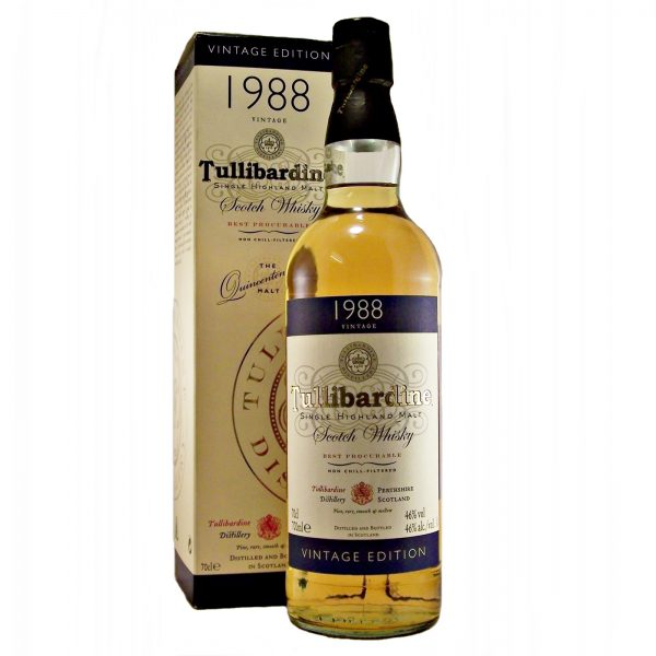 Tullibardine 1988 Vintage Single Malt Whisky