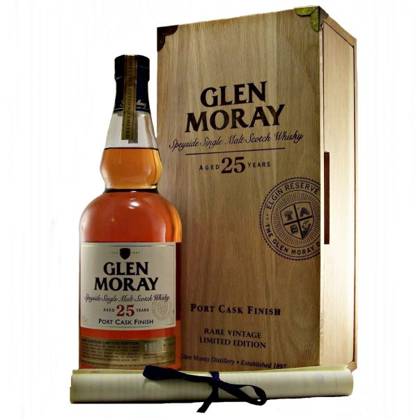 Glen Moray 25 year old Port Cask Finish