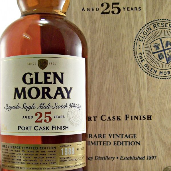 Glen Moray 25 year old Port Cask Finish 1988 vintage
