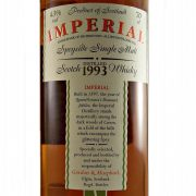Imperial Single Malt Whisky 1993 Vintage