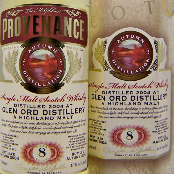 Glen Ord Provenance Single Malt Scotch Whisky