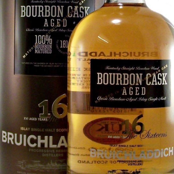 Bruichladdich 16 year old Bourbon Cask Single Malt Whisky
