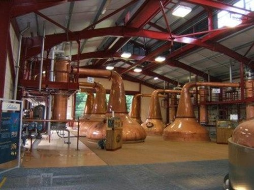 Glenburgie Whisky Distillery Still House