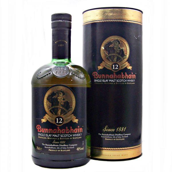 Bunnahabhain 12 year old Single Malt Whisky (old style)