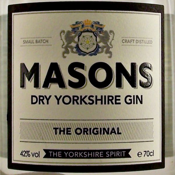 Masons Dry Yorkshire Gin Original small batch
