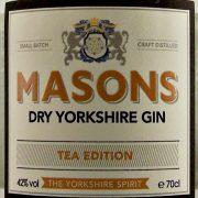 Masons Dry Yorkshire Gin Tea Edition small batch
