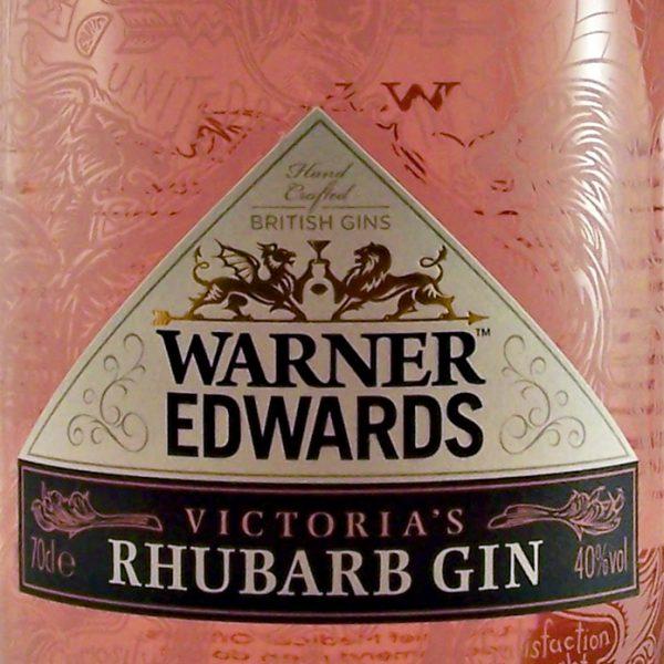 Warner Edwards Victoria's Rhubarb Gin