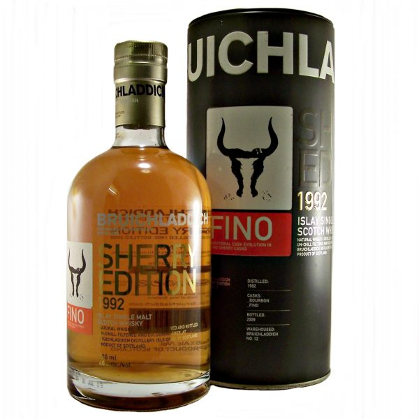 Bruichladdich Fino Sherry Edition 1992