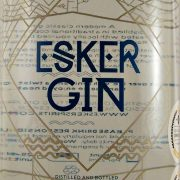 Esker Gin distilled and bottled on Royal Deeside Scotland