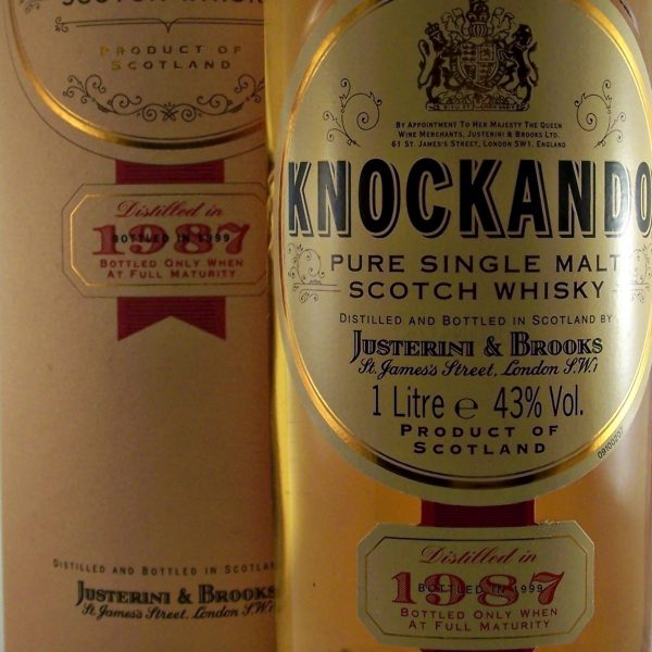 Knockando 1987 Single Malt Whisky 1 Litre