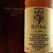 Poit Dhubh 21 year old Blended Malt Whisky