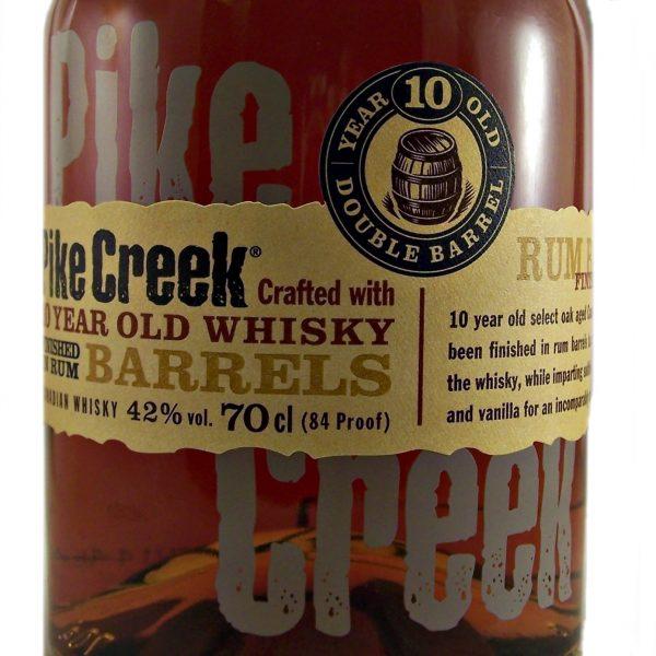 Pike Creek Canadian Whisky rum barrel finish