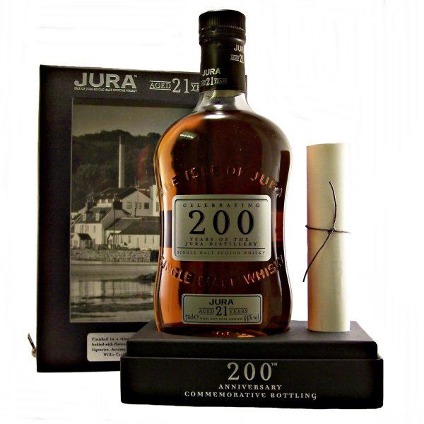 Jura 21 year old 200th Anniversary 1963 Gonzales Byass Sherry Cask
