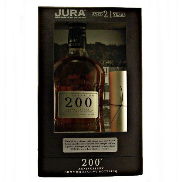 Jura 21 year old 200th Anniversary 1963 Sherry Cask