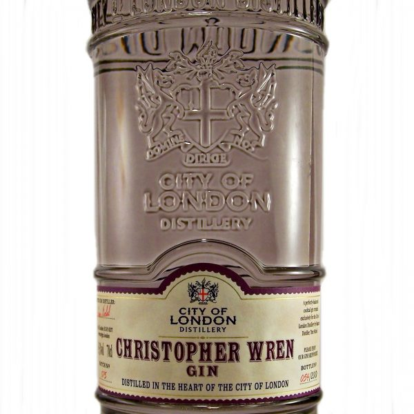 City of London Christopher Wren Gin No2
