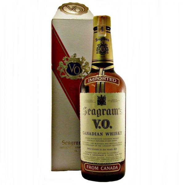 Seagrams V.O. 1978 Canadian Whisky