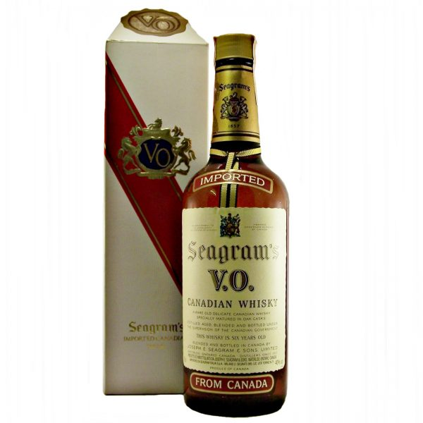 Seagrams V.O. 1979 Canadian Whisky