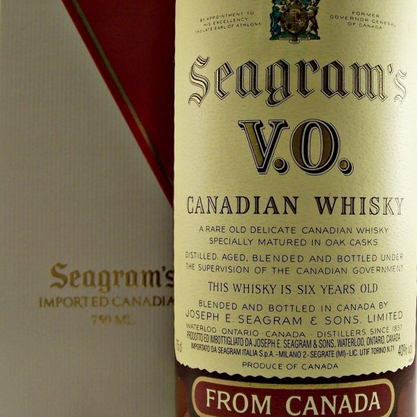 Seagram's VO 1978 Canadian Whisky