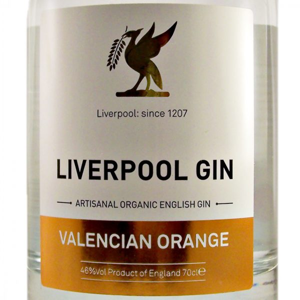 Liverpool Gin Valencian Orange handcrafted